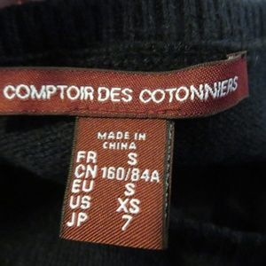 Comptoir Des Cotonniers Sweaters - COMPTOIR DES COTONNIERS NAVY BLUE SWEATER SZ XS*